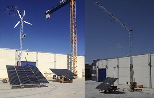 Gemec - Eurocrane - Eolico Solar